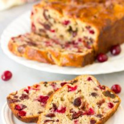 Fresh Orange Cranberry Bread