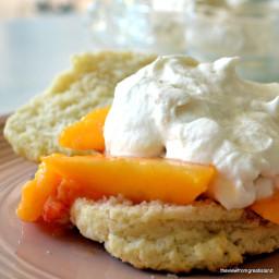 Fresh Peach Shortcake