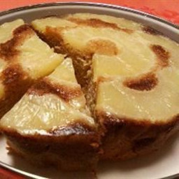 Fresh Pineapple Upside Down Cake
