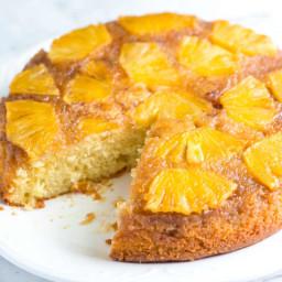 Fresh Pineapple Upside Down Cake Recipe