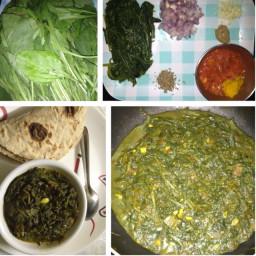 Fresh Spinach Vegetable