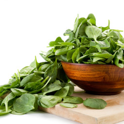 Fresh Steamed Spinach