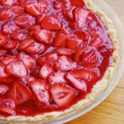 Fresh Strawberry Pie~