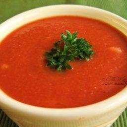 Fresh Tomato Soup Ala Terri