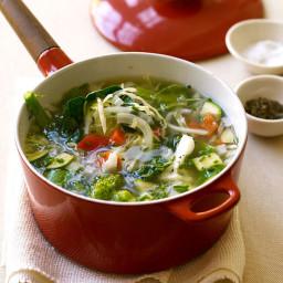 Fresh Vegetable Soup: 1 Points Plus Value!