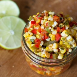 Fresh and Fast Corn Salsa