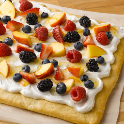 Fresh Fruit & Cream Cheese Bars