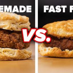 Fried Chicken Biscuit Sandwich Recipe by Tasty