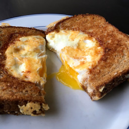 Fried Egg Breakfast Grilled Cheese