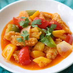 Fried Fish in Sweet & Sour Sauce