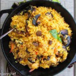 Fried Local Jollof Rice...