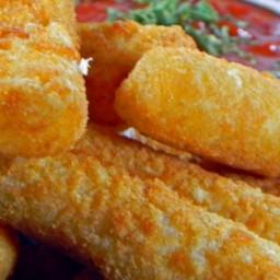 Fried Mozzarella Cheese Sticks Recipe