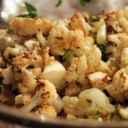 Fried (or Roasted) Cauliflower with Fish Sauce Vinaigrette