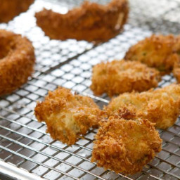 Fried Pickles and Onion Rings