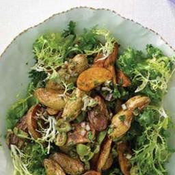 Frisée and Fingerling Potato Salad