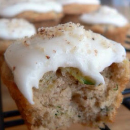 Frosted Zucchini Bread Muffins