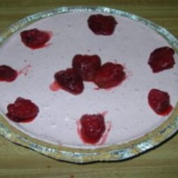 Frosty Strawberry Cream Pie