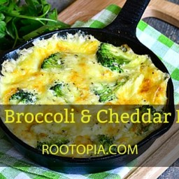 Frozen Broccoli and Cheddar Frittata