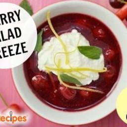 Frozen Cherry Salads