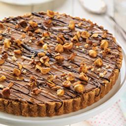 Frozen Chocolate Mousse Tart