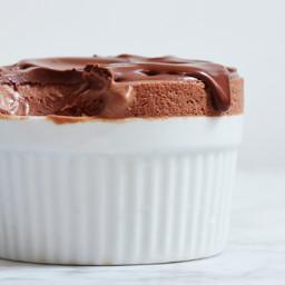 Frozen Chocolate Souffle