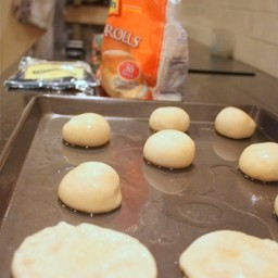 Frozen Dinner Roll Pizzas