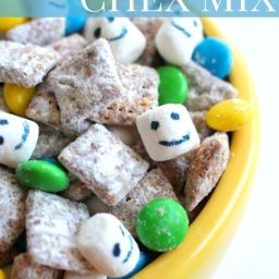 Frozen Fever Inspired Chex Mix Recipe
