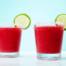 Frozen Raspberry-Ginger Margarita