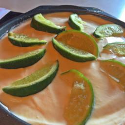 Frozen Margarita Pie