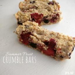 Fruit Crumble Bars