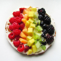 Fruit Pizza with Cinnamon Sugar Crust