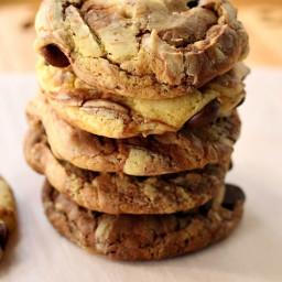 Fudge Marble Cookies