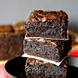Fudgy Gluten Free Brownies (Egg Free)