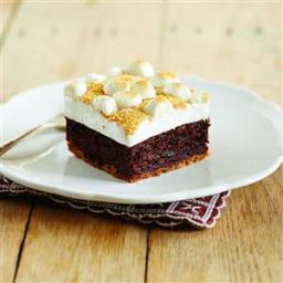 Fudgy S'mores Brownie Bars Recipe