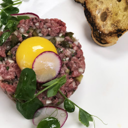 Fullblood Wagyu Beef Flat Iron Steak Tartare
