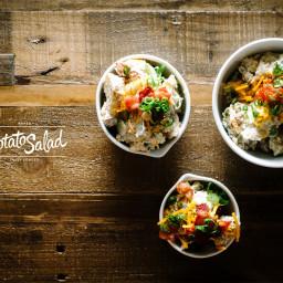Fully Loaded Baked Potato Salad Recipe