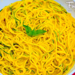 FULLYRAW SWEET CURRY NOODLES