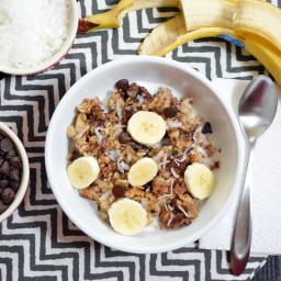 funky monkey baked oatmeal