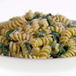 Fusilli with Pecorino Romano and Black Pepper