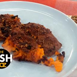 Gail Simmons' Crispy Smashed Sweet Potatoes