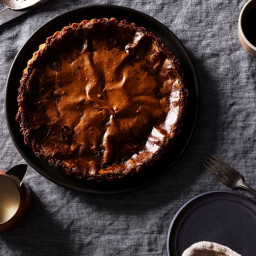 Gail Simmons' Toasted Hazelnut Tarte au Sucre