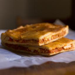 Galician Empanada (tuna & tomato Galician pie) recipe