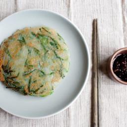 Gamja Jeon / Potato Pancakes  (감자전)