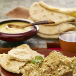 Garam Masala-Spiced Roti Flatbread