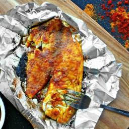 Garam Masala Tilapia with Sweet Curry Butter