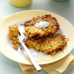 Garden Potato Pancakes Recipe