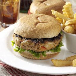 Garden Turkey Burgers Recipe