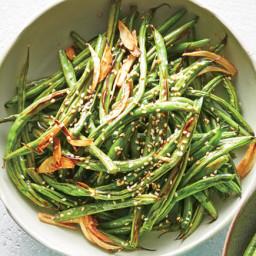 Garlic-and-Sesame Green Beans