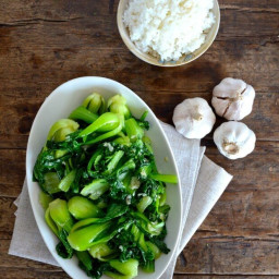 Garlic Baby Bok Choy Stir Fry