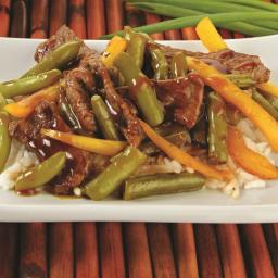 Garlic Beef Stir Fry